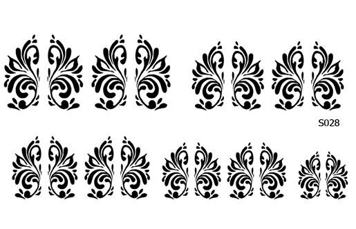 Слайдер дизайн вензеля маникюр S028