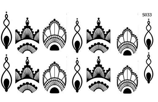 Слайдер дизайн кружево элементы S033
