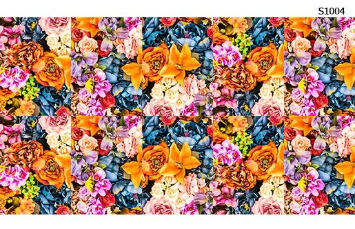 Слайдер дизайн букет микс цветов S1004