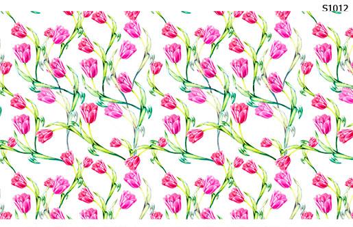 Слайдер дизайн тюльпаны S1012