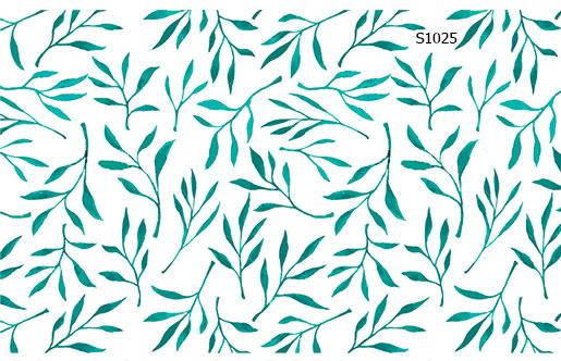 Слайдер дизайн листочки весна S1025