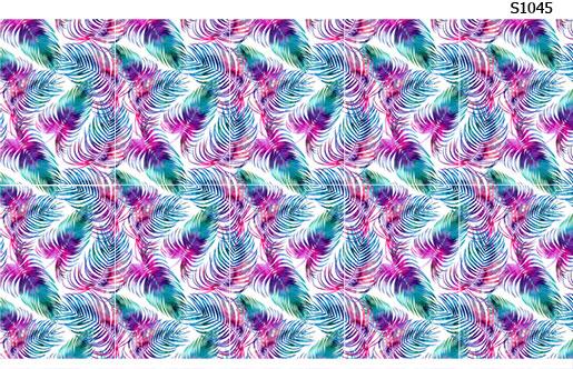 Слайдер дизайн пальмы листья S1045