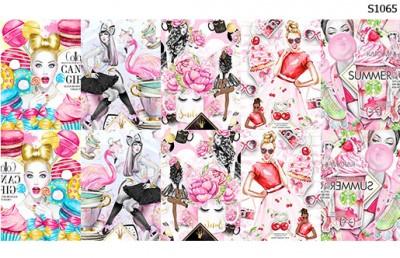 Слайдер дизайн постер сладости S1065