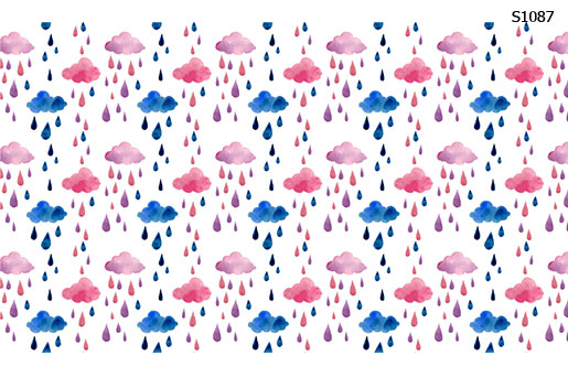 Слайдер дизайн капли дождя S1087