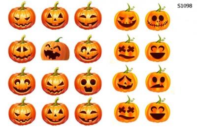 Слайдер дизайн тыква на хеллоуин S1098