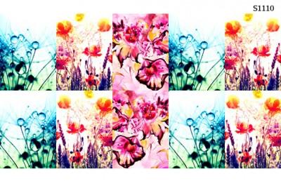 Слайдер дизайн макро цветы S1110