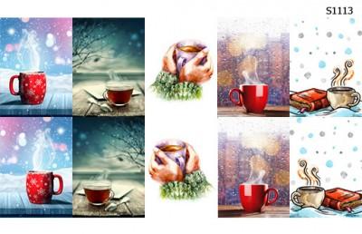 Слайдер дизайн кофе в мороз S1113
