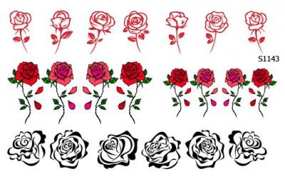 Слайдер дизайн розы набор S1143