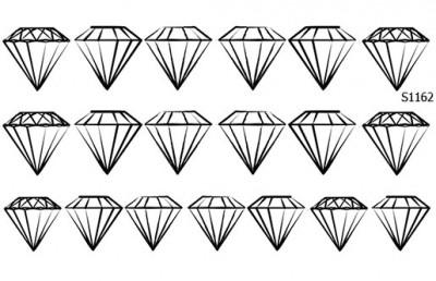 Слайдер дизайн геометрия бриллиант S1162