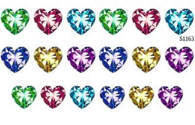 Слайдер дизайн сердце из камня S1163