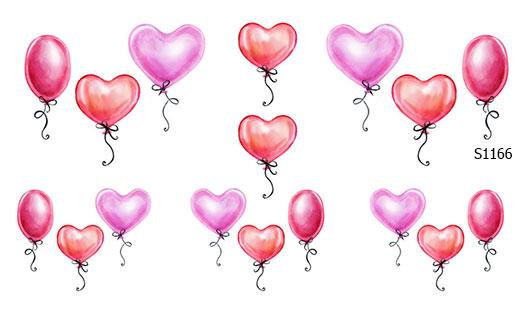 Слайдер дизайн шарики сердечко S1166