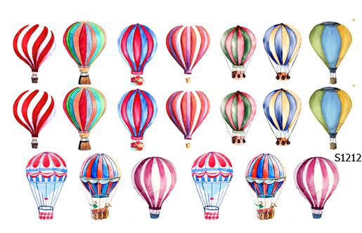 Слайдер дизайн воздушный шар S1212