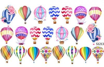 Слайдер дизайн воздушные шарики S1213