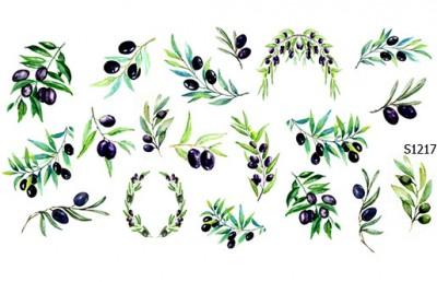 Слайдер дизайн оливки S1217
