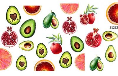Слайдер дизайн авокадо S1282