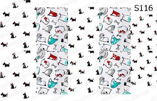 Слайд-дизайн собачки S116