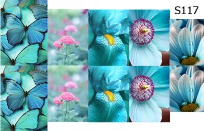 Слайд-дизайн цветы микс S117