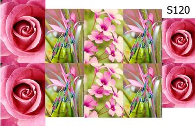 Слайд-дизайн цветы микс S120