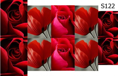 Слайд-дизайн цветы микс S122