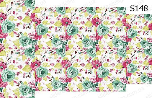 Слайд-дизайн цветы обои S148