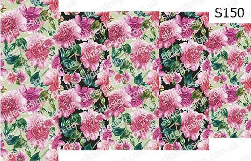 Слайд-дизайн цветы обои S150