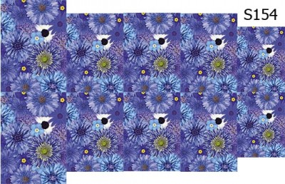 Слайд-дизайн цветы обои S154