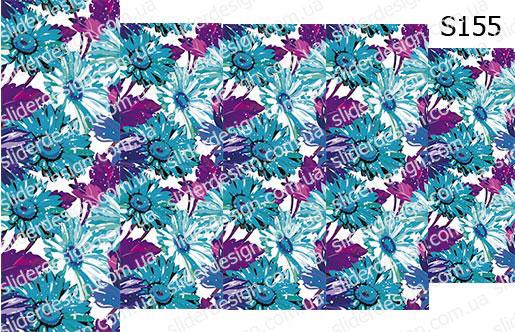 Слайд-дизайн цветы обои S155