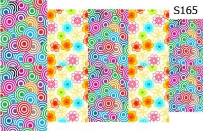Слайд-дизайн цветы абстракция S165