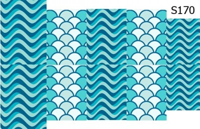 Слайд-дизайн волны S170