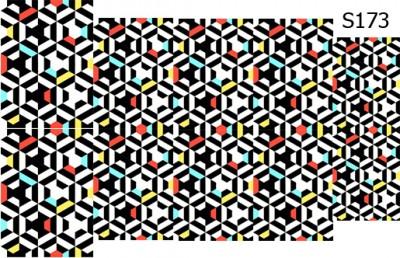 Слайд-дизайн абстракция S173