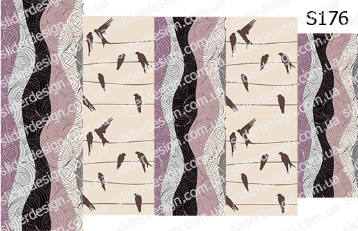 Слайд-дизайн птички S176