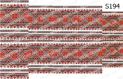 Слайд-дизайн вышиванка S194