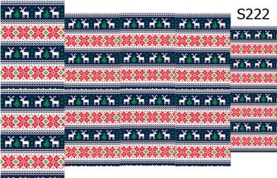 Слайдер дизайн узор свитер S222