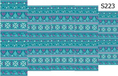 Слайдер дизайн свитер с оленями S223