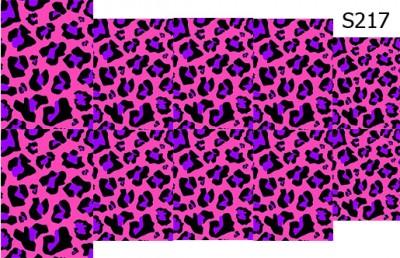 Слайдер дизайн леопард принт S217