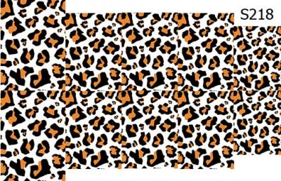Слайдер дизайн леопардовый принт S218
