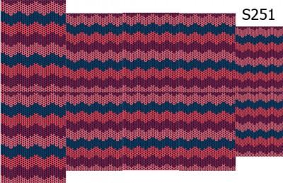 Слайдер дизайн вязаный узор свитер S251