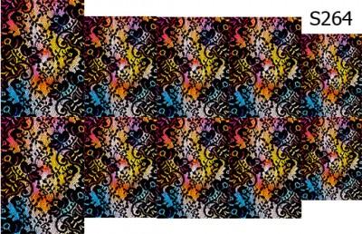 Слайдер дизайн кружево на цветном фоне S264