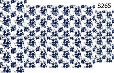 Слайдер дизайн винтажные цветы S265