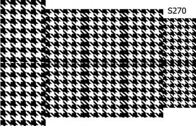 Слайдер дизайн гусиная лапка узор S270