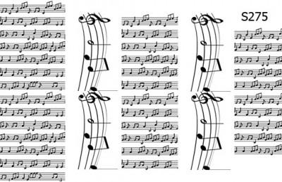 Слайдер дизайн ноты музыка S275