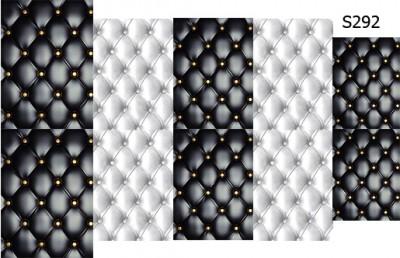Слайдер дизайн стеганый маникюр S292