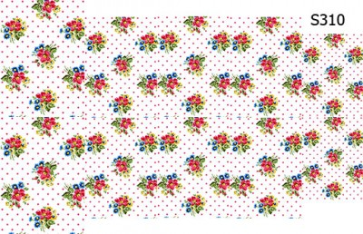 Слайдер дизайн цветы винтаж прованс S310