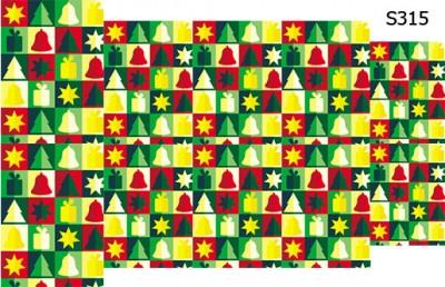 Слайдер дизайн елка подарки Новый Год S315