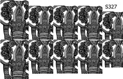 Слайдер дизайн индийский слон S327