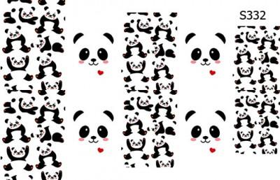 Слайдер дизайн панда S332