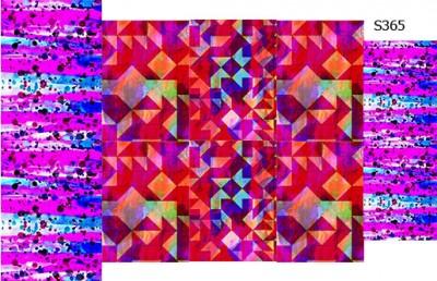 Слайдер дизайн кляксы абстракции S365