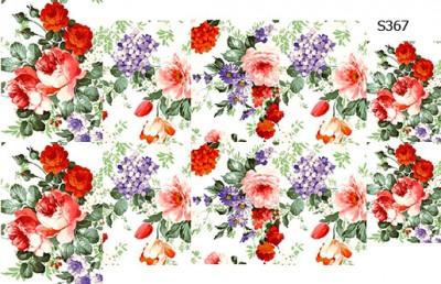 Слайдер дизайн винтажные цветы прованс S367