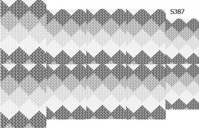 Слайдер дизайн зимний узор свитера ромбики S387