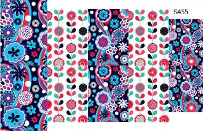 Слайдер дизайн этно цветы S455